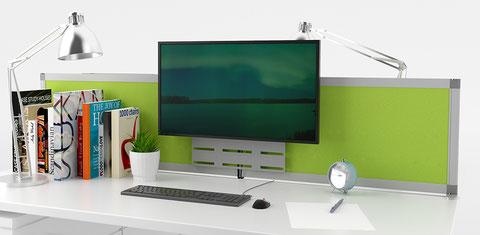 tisch-trennwand-und-monitor